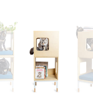 Custom Mjau Haus Modular Cat Furniture Modular Cat Furniture Mjau Home Modern Cat Furniture