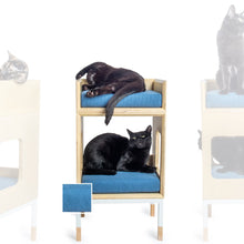 Load image into Gallery viewer, Custom Mjau Haus Modular Cat Furniture Modular Cat Furniture Mjau Home Modern Cat Furniture