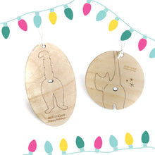Load image into Gallery viewer, Mjau Home Holiday Ornament (set of 3) Modular Cat Furniture Mjau Home Modern Cat Furniture