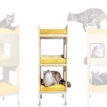 Load image into Gallery viewer, Modular Mjau Haus Modular Cat Furniture Mjau Home Modern Cat Furniture