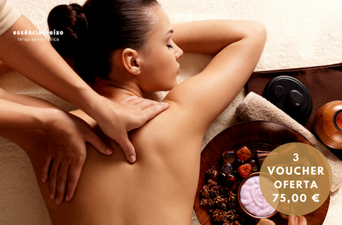 Massagem de Relaxamento | Voucher 3X