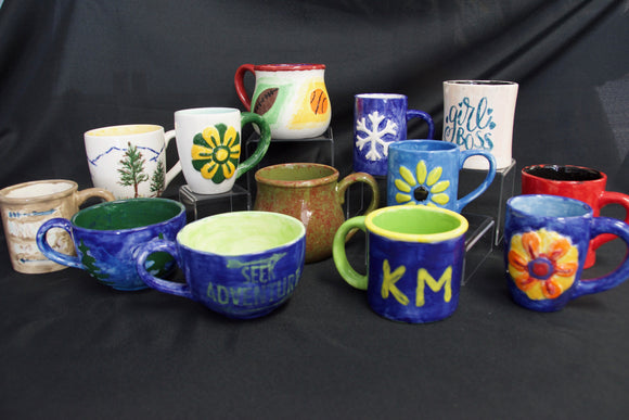 paint your own mug