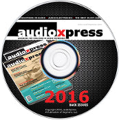 audioXpress 2016 Back Issues on CD - CC-Webshop