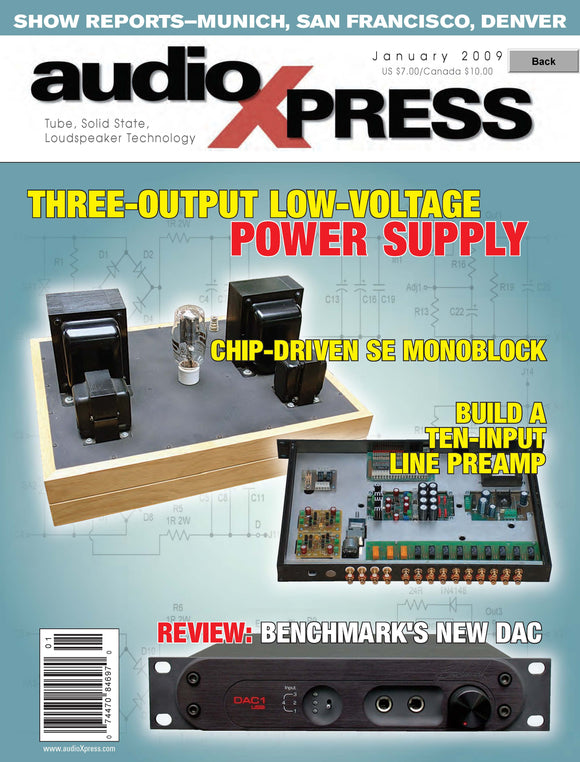 audioXpress Issue Jan 2009 - CC-Webshop