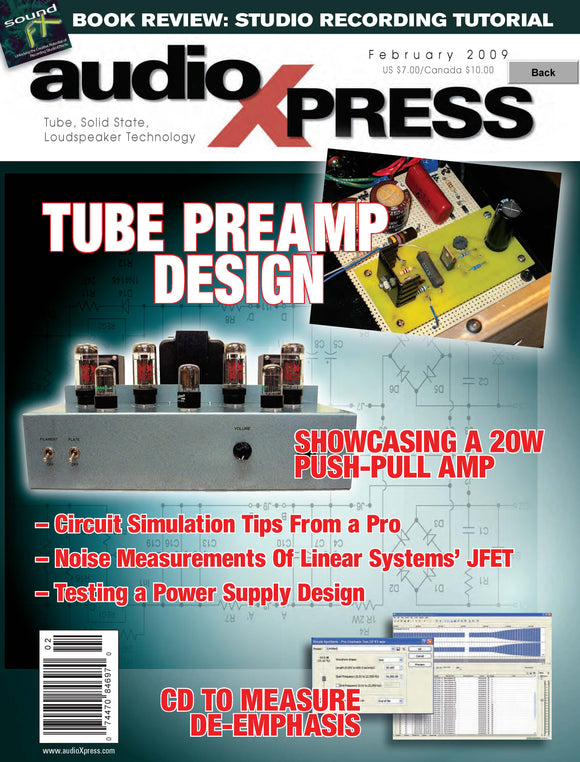 audioXpress February 2009 PDF - CC-Webshop