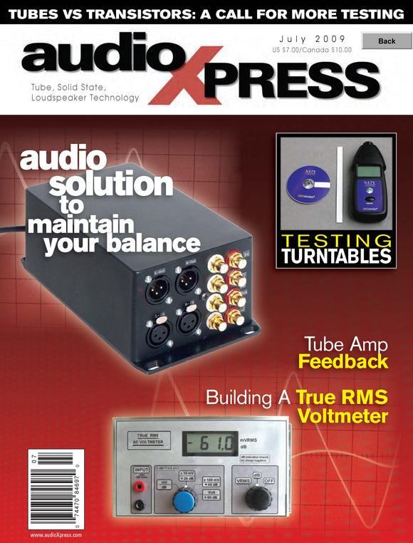 audioXpress Issue July 2009 - CC-Webshop