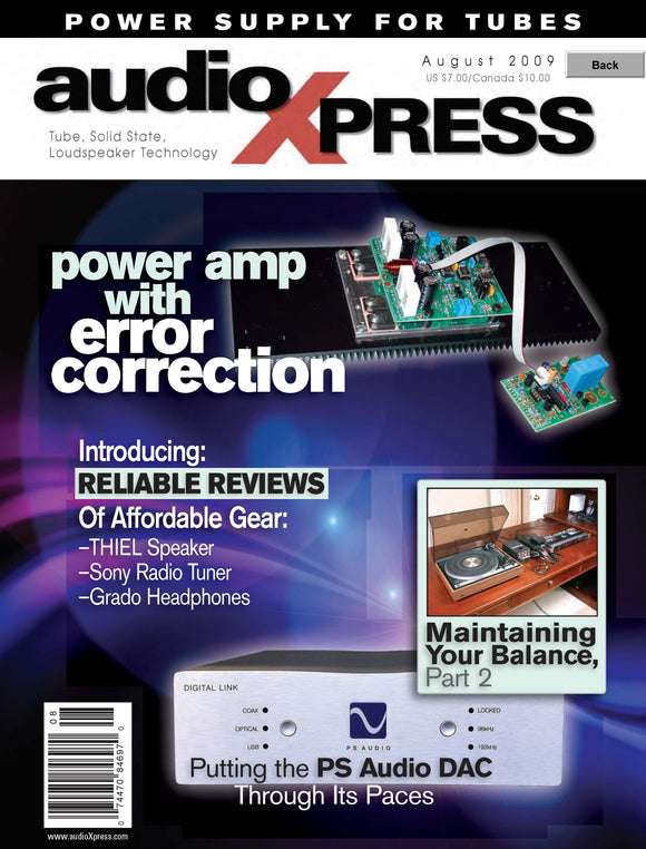 audioXpress August 2009 PDF - CC-Webshop