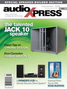 audioXpress September 2009 - CC-Webshop