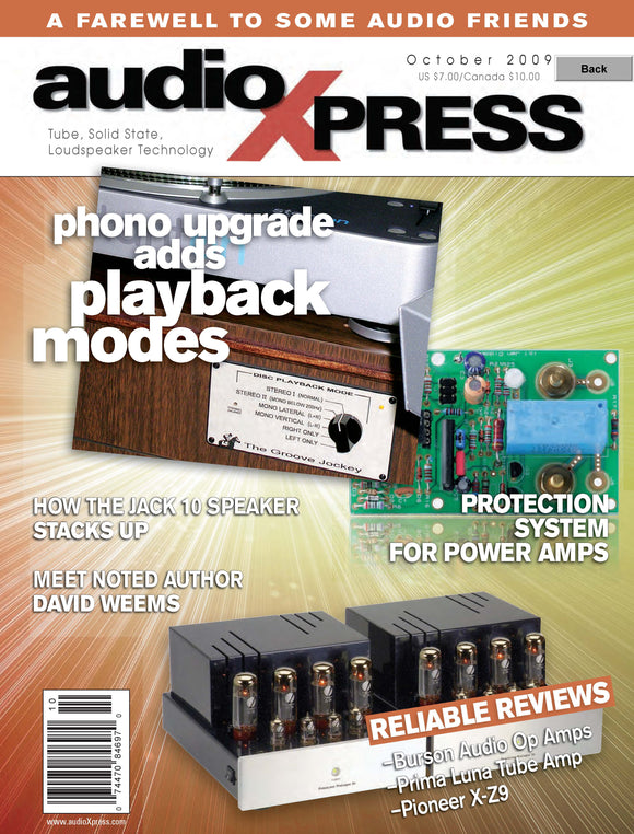 audioXpress Issue October 2009 - CC-Webshop