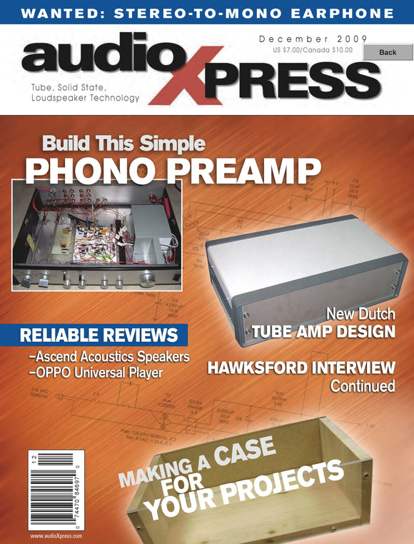 audioXpress December 2009 PDF - CC-Webshop
