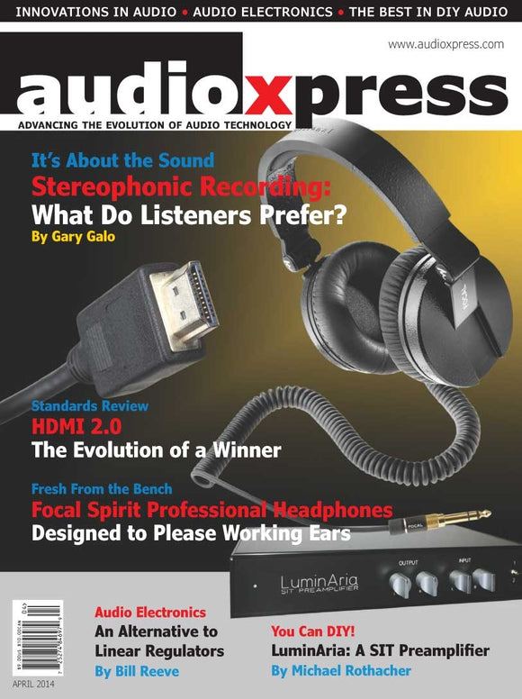 audioXpress April 2014 PDF - CC-Webshop