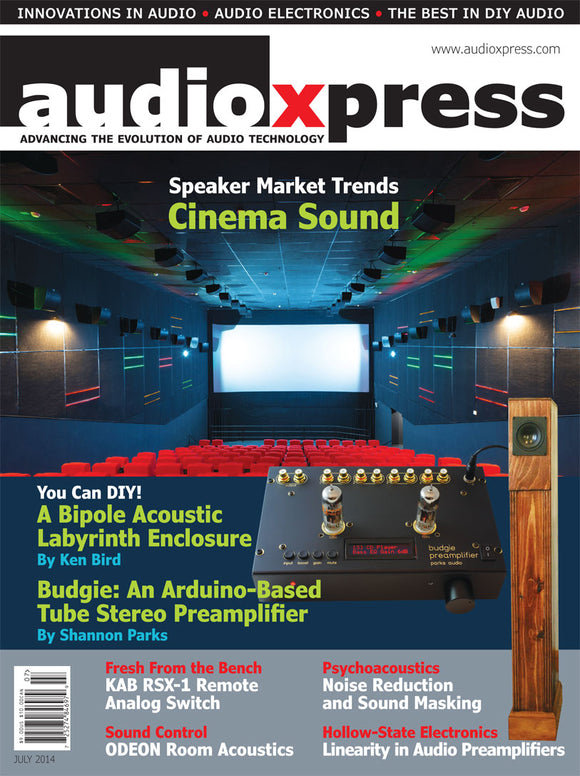 audioXpress July 2014 - CC-Webshop