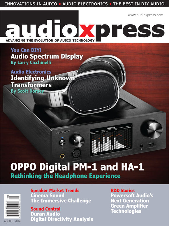 audioXpress August 2014 PDF - CC-Webshop