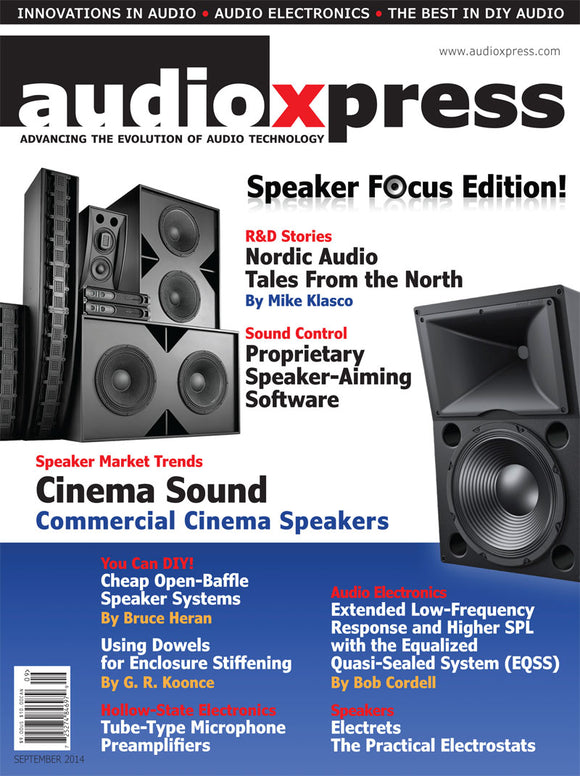 audioXpress September 2014 - CC-Webshop