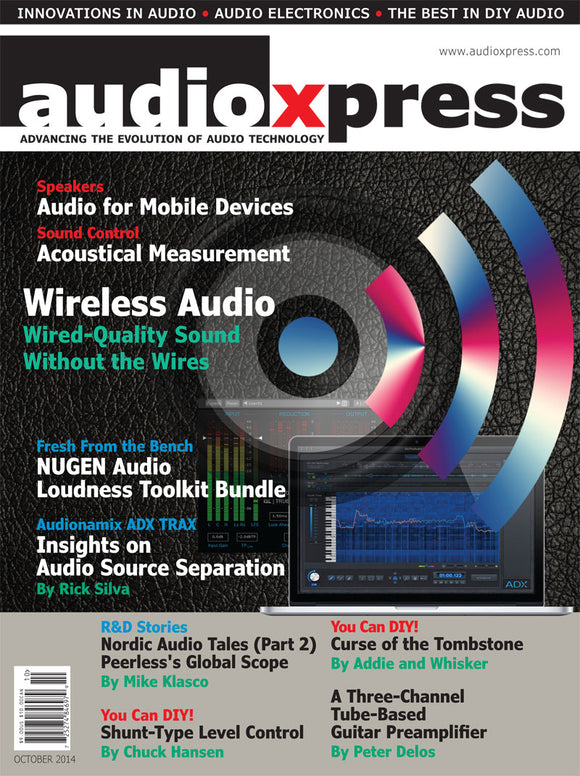 audioXpress October 2014 - CC-Webshop