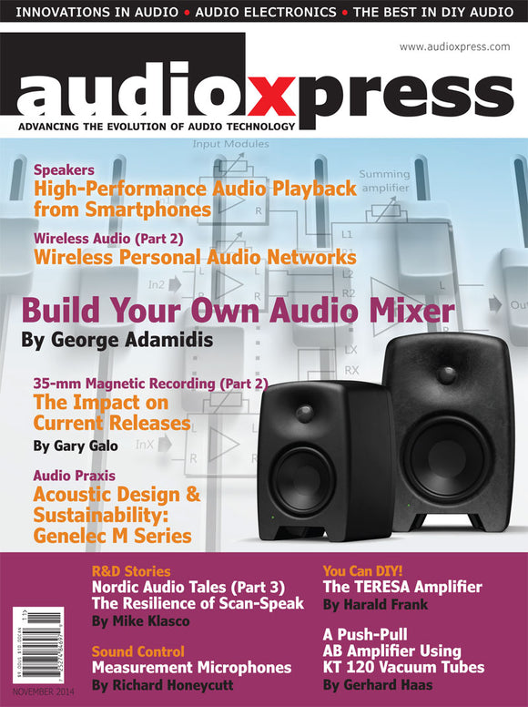 audioXpress November 2014 - CC-Webshop