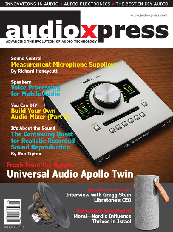 audioXpress December 2014 PDF - CC-Webshop