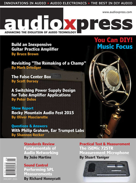 audioXpress January 2016 - CC-Webshop