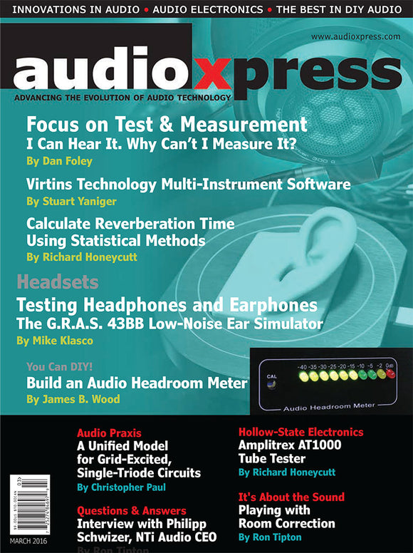 audioXpress March 2016 - CC-Webshop