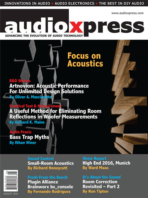 audioXpress August 2016 PDF - CC-Webshop