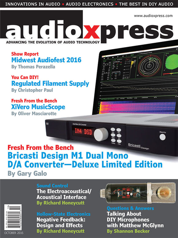 audioXpress October 2016 - CC-Webshop