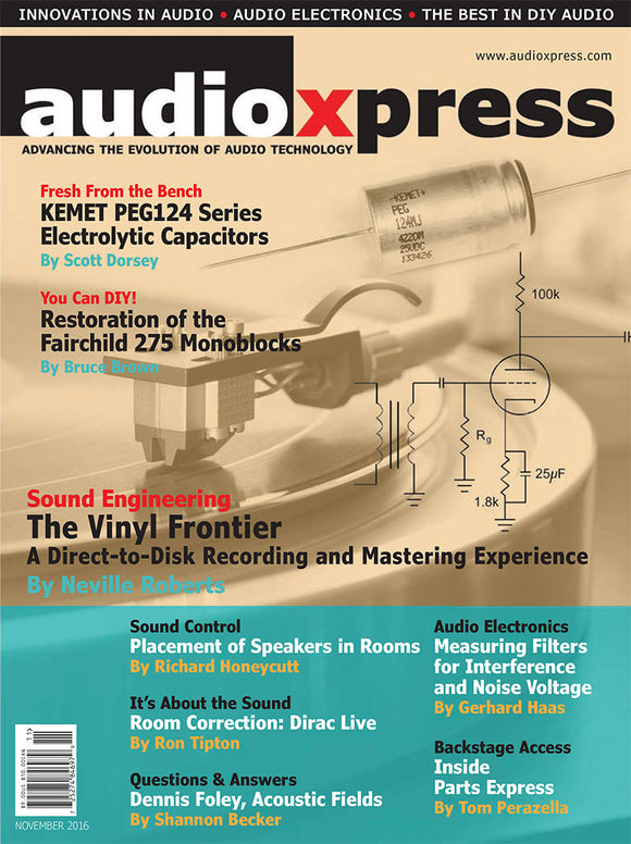 audioXpress November 2016 - CC-Webshop
