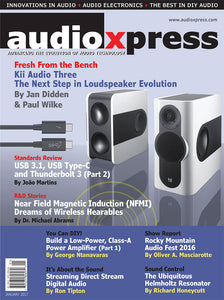 audioXpress January 2017 (PDF) - CC-Webshop