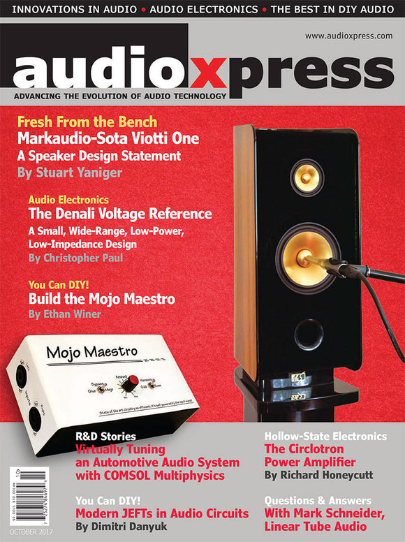 audioXpress October 2017 (PDF) - CC-Webshop