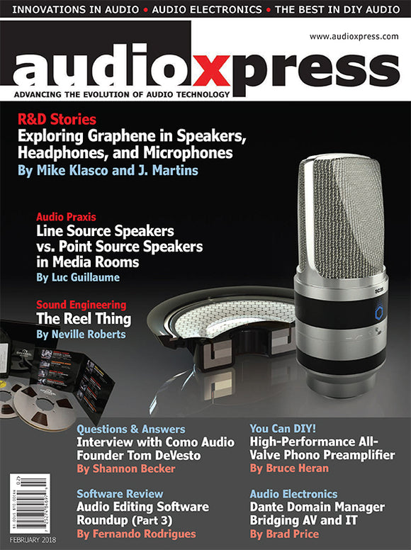 audioXpress February 2018 PDF - CC-Webshop
