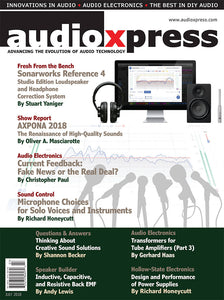 audioXpress July 2018 PDF - CC-Webshop
