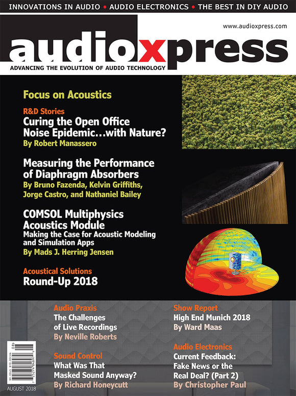 audioXpress August 2018 PDF - CC-Webshop