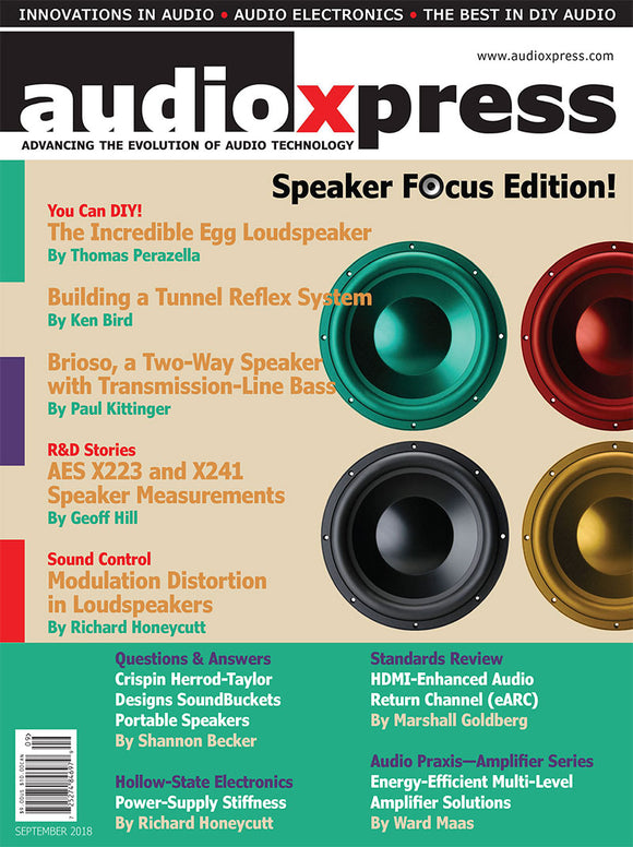audioXpress September 2018 PDF - CC-Webshop