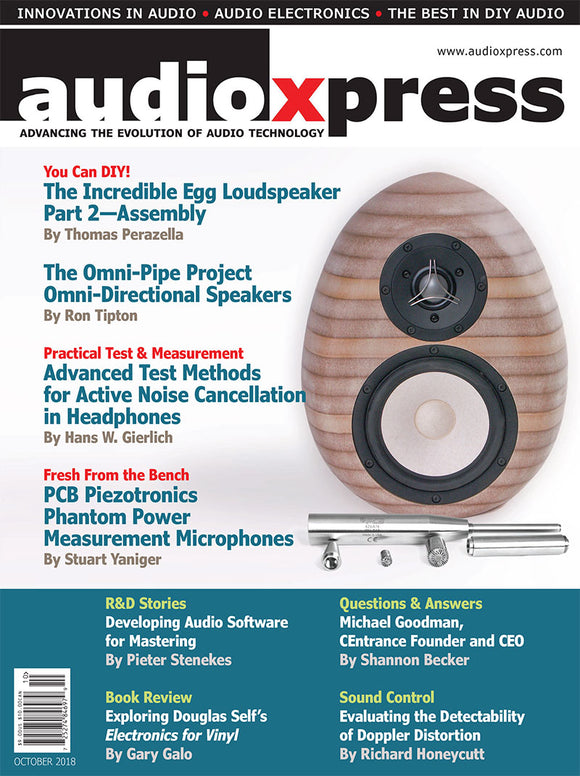 audioXpress Magazine Subscription - CC-Webshop