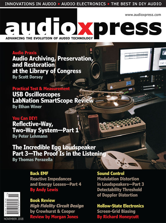 audioXpress November 2018 PDF - CC-Webshop