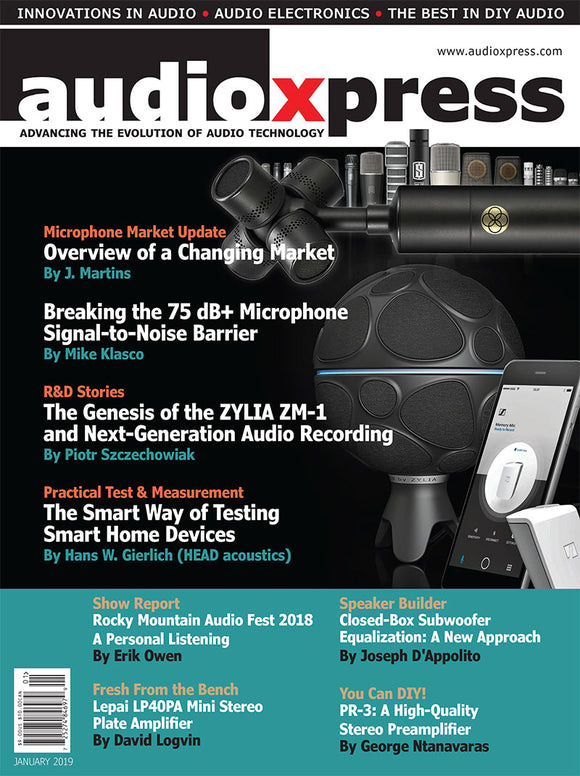 audioXpress January 2019 PDF - CC-Webshop
