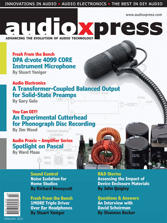 audioXpress February 2019 PDF
