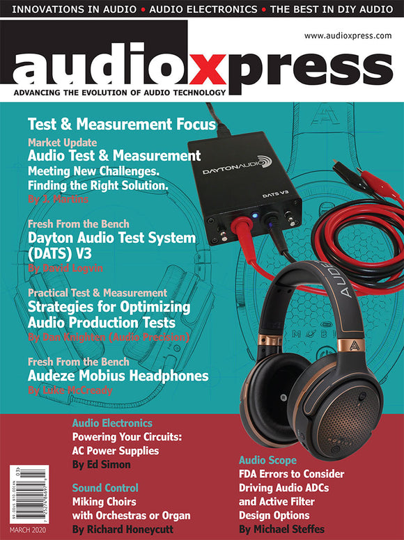 audioXpress March 2020 PDF