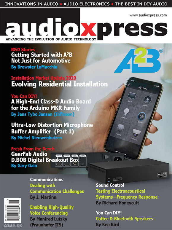 audioXpress October 2020 PDF