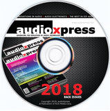 audioXpress 2018 Back Issues on CD