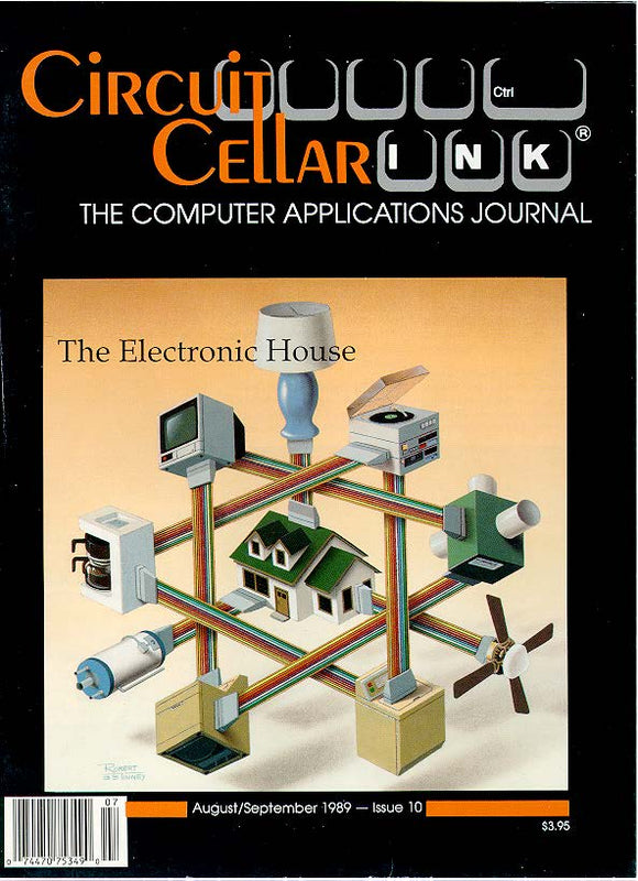 Circuit Cellar Issue 010 August/September 1989-PDF - CC-Webshop