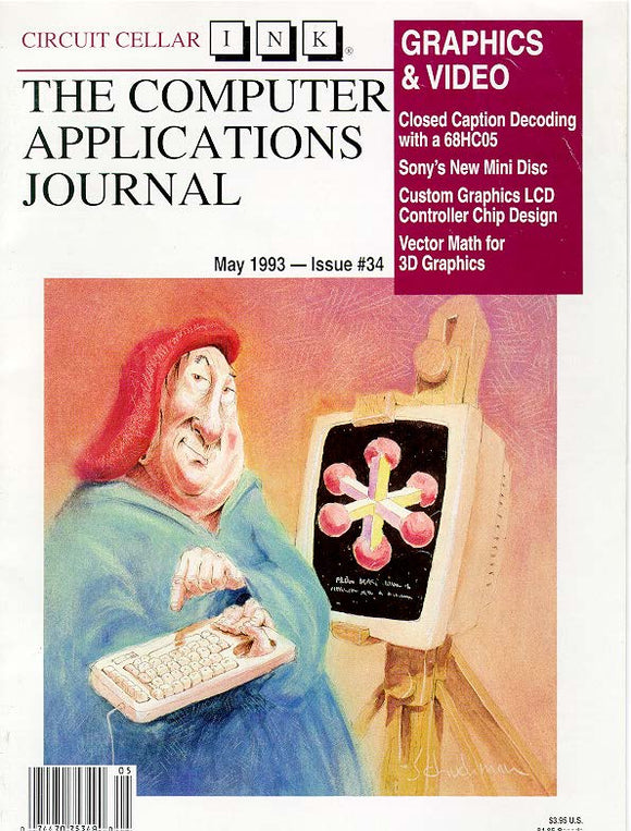 Circuit Cellar Issue 034 May 1993-PDF - CC-Webshop