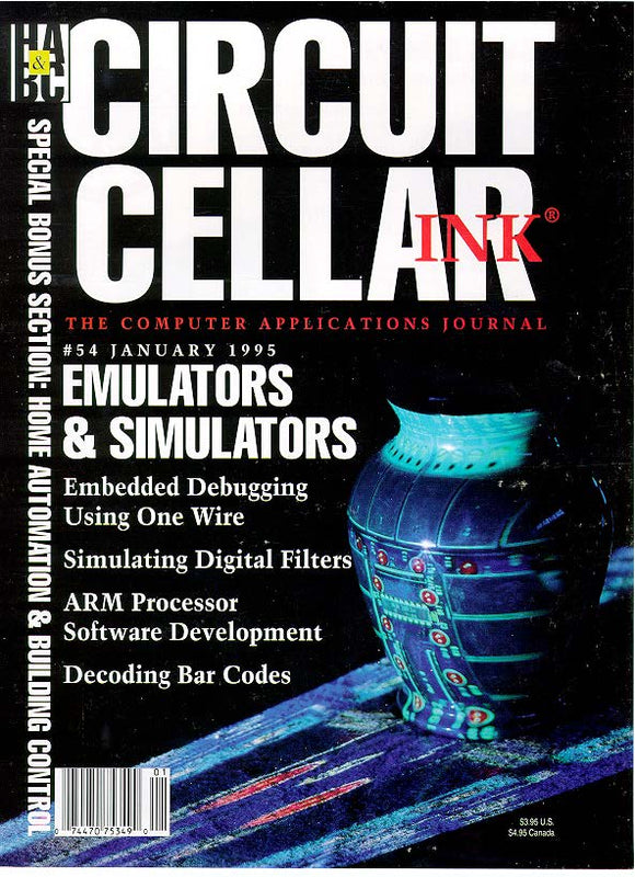 Circuit Cellar Issue 054 January 1995-PDF - CC-Webshop