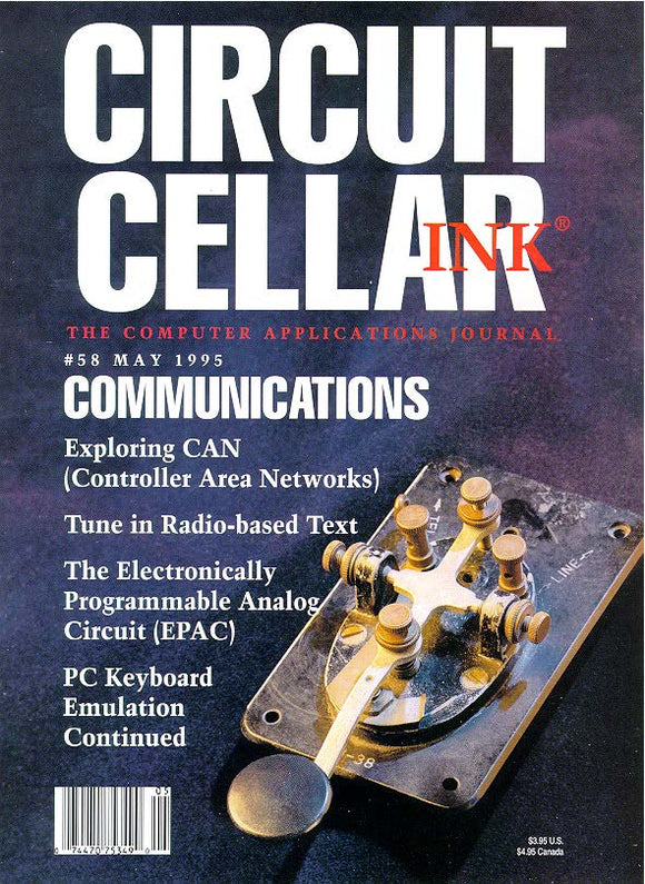 Circuit Cellar Issue 058 May 1995-PDF - CC-Webshop