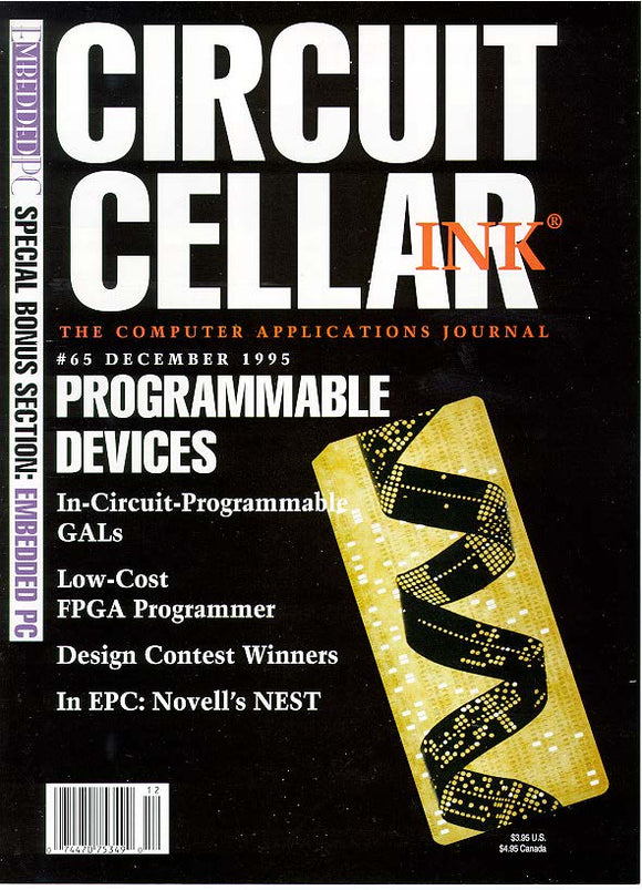 Circuit Cellar Issue 065 December 1995 - PDF - CC-Webshop