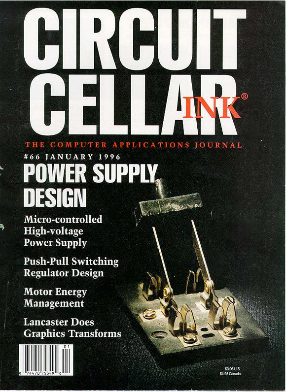 Circuit Cellar Issue 066 January 1996 - PDF - CC-Webshop