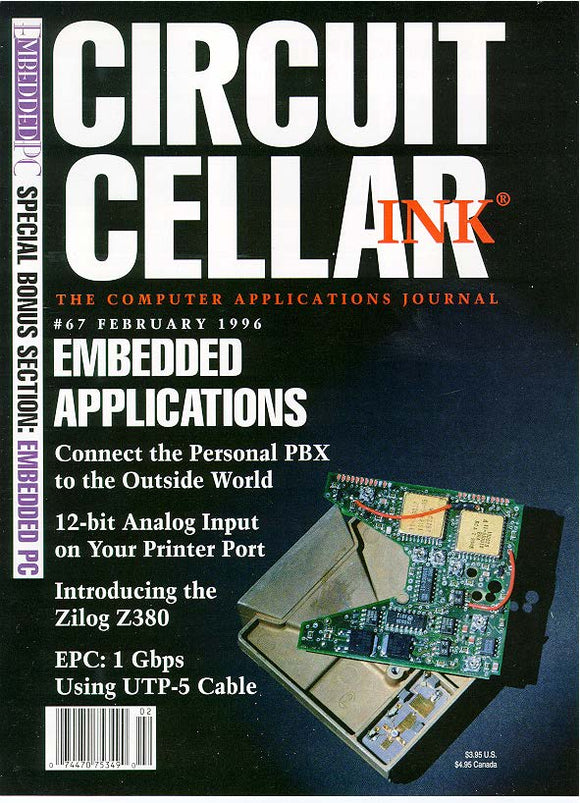 Circuit Cellar Issue 067 February 1996 - PDF - CC-Webshop