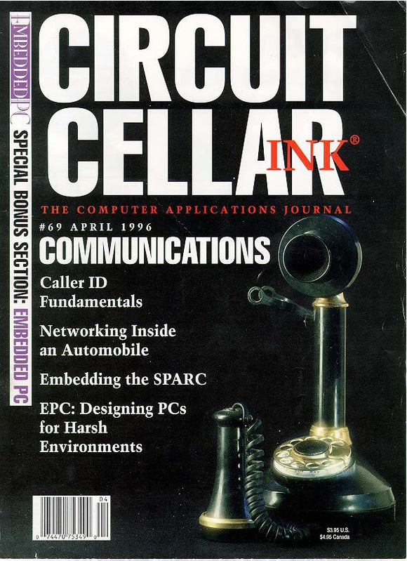 Circuit Cellar Issue 069 April 1996 - PDF - CC-Webshop