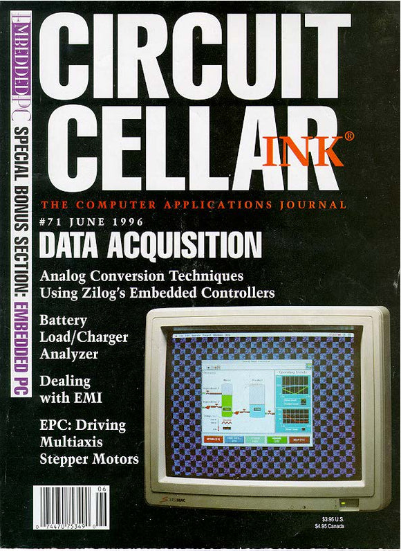 Circuit Cellar Issue 071 June 1996 - PDF - CC-Webshop