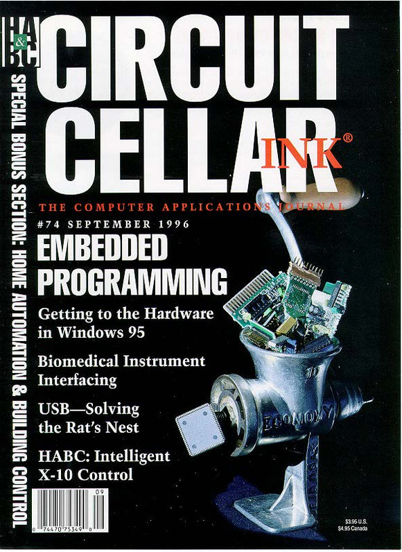 Circuit Cellar Issue 074 September 1996 - PDF - CC-Webshop