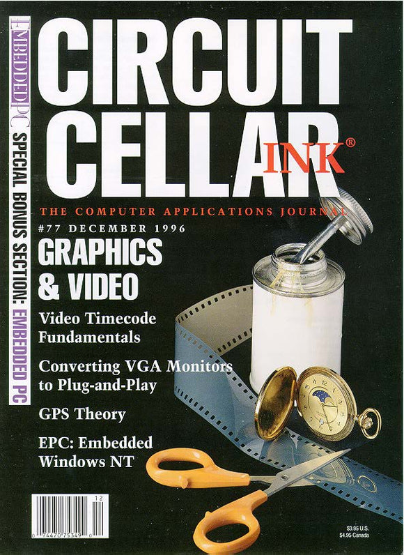 Circuit Cellar Issue 077 December 1996 - PDF - CC-Webshop